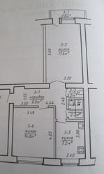 Продам 2-комнатную квартиру в пригороде Бреста