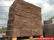 Блок цементно-песчаный декоративный цветной - foto 2