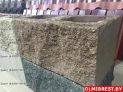 Блок цементно-песчаный декоративный цветной - foto 0