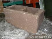 Блоки демлер,  цементно-песчаные блоки,  декоративные блоки - foto 1