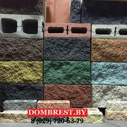 Блоки рваный камень для забора и фундамента в Бресте  - foto 2