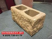 Декоративные блоки для забора рваный камень - foto 1