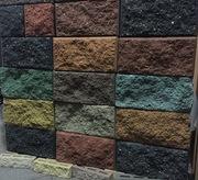 Рваные блоки для забора,  декоративные блоки - foto 0