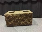 Рваные блоки для забора,  декоративные блоки - foto 4