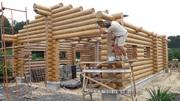Изготовление домов и бань из оцилиндрованного бревна. - foto 5