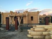 Изготовление домов и бань из оцилиндрованного бревна. - foto 7